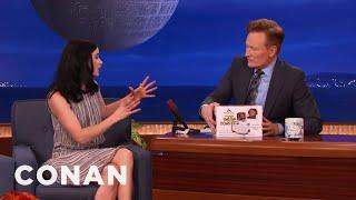 Krysten Ritter Gets Conan A Surprise Holiday Present  - CONAN on TBS