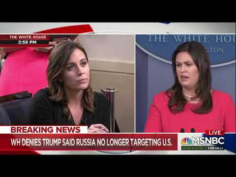 All Hell Breaks Loose As Reporter Hammers Sarah Sanders And Questions Trump's Credibility