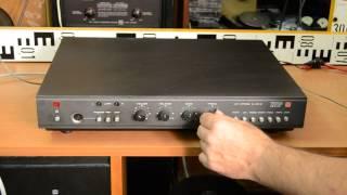 TESLA AZS 218 Stereo Amplifier