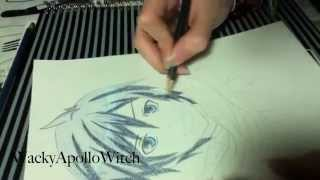 Vocaloid Drawing Series #1 - Kaito