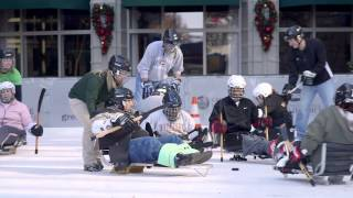 GHS Sled Hockey Clinic at Ice on Main