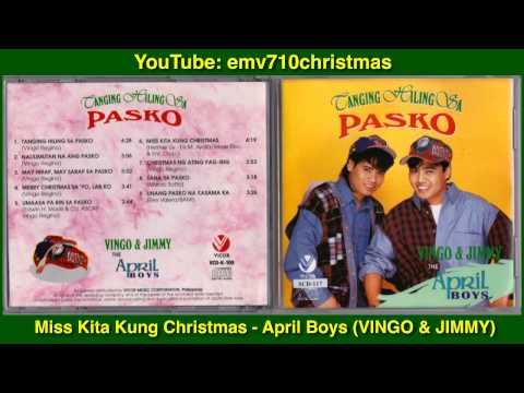 Miss Kita Kung Christmas  April Boys VINGO & JIMMY