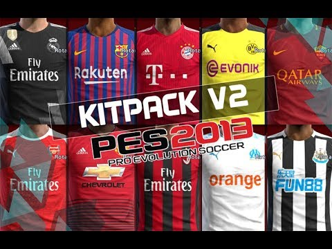 6afc5674b PES 2013 • New Kitpack V2 • 2018   2019 • Download - YouTube