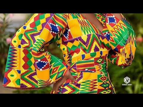 Amazing kente Styles, Ghana fashion collection 2021 lovely African dresses