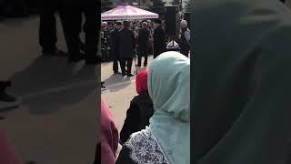 Выступление Дзейтова Харона на митинге в Магасе