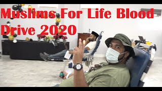 Muslims for Life Blood Drive 2020 Philadelphia