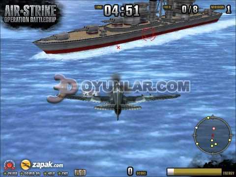 3doyunlar.com - 3d Savaş Uçağı Oyunu