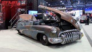 1950 Buick Roadmaster Convertible in Perfect Patina at SEMA - Eastwood