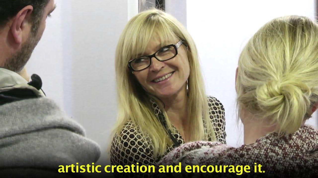 Catherine Metz Artiste-Peintre - Exposition - YouTube