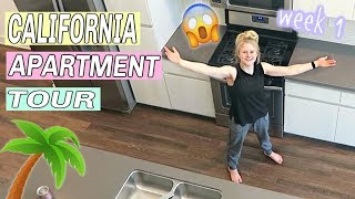 LA APARTMENT TOUR! | LA week 1