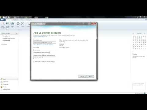 Configurar cuenta yahoo en Windows Live 2012