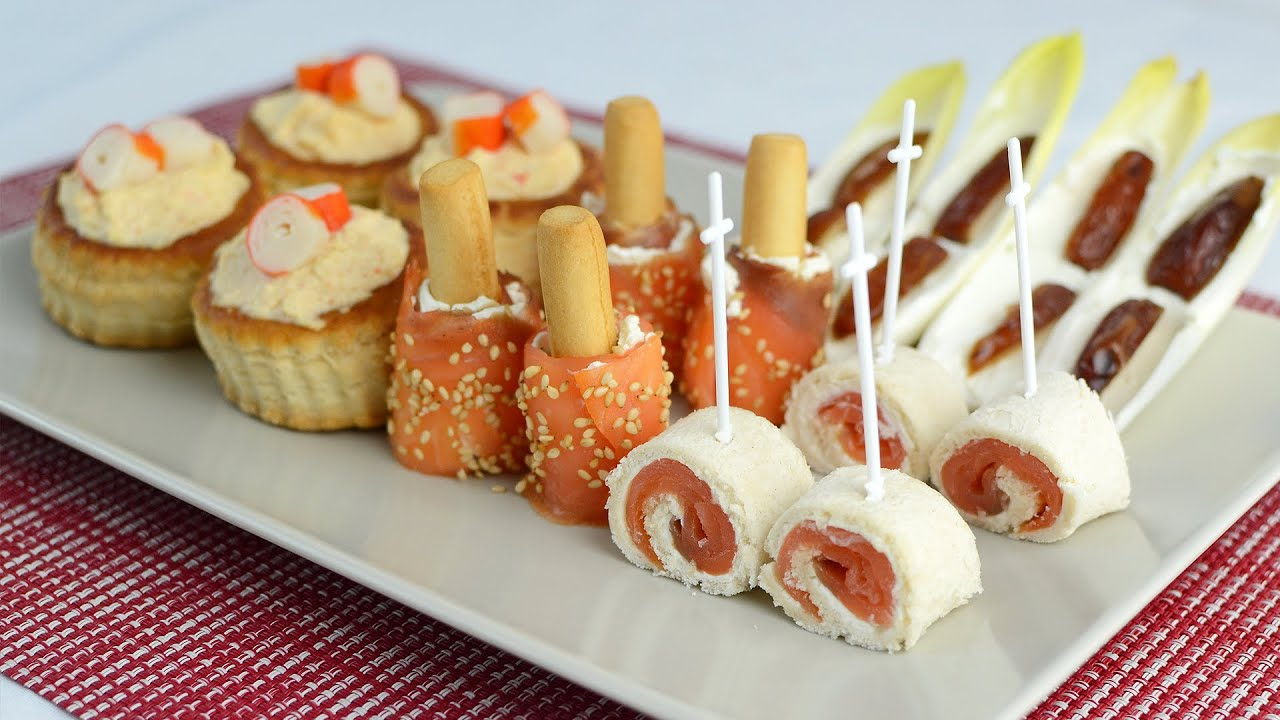 ideas canapes faciles