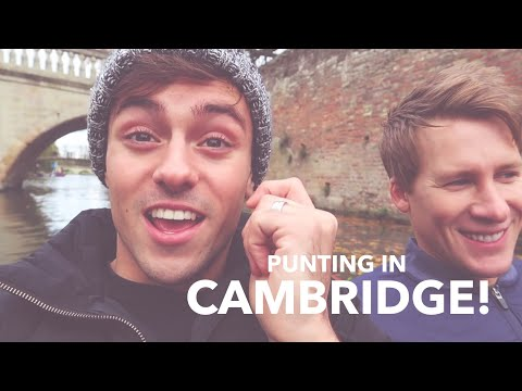 Tom and Lance Go Punting In Cambridge! I Tom Daley