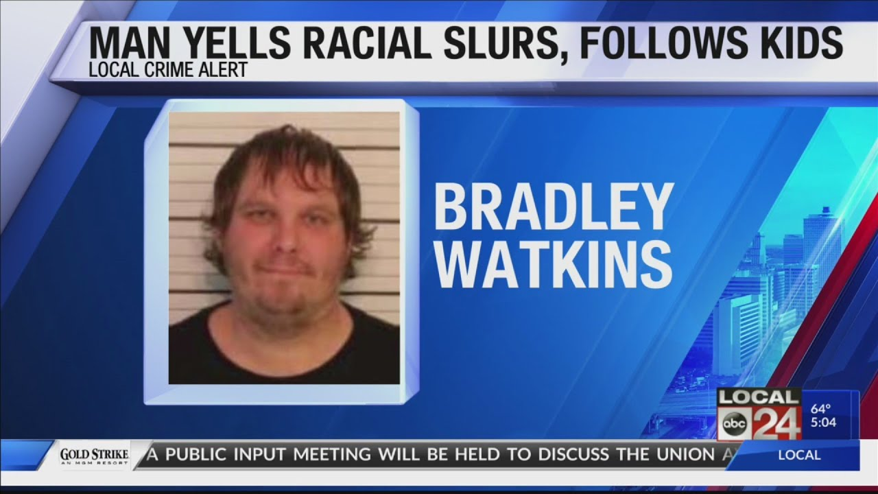 MAN YELLS RACIAL SLUR AFTER CHASING KIDS