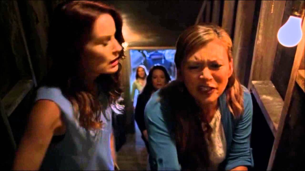 plot holes, When all the Moms in Pretty Little Liars unrealistically escaped the locked basement in Season 6