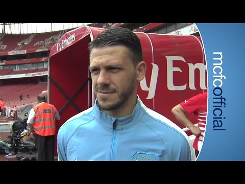 'HAPPY' WITH HEADER | Demichelis on Arsenal draw