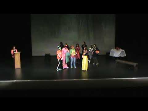 """Fennville Middle School Drama """"Snow White Story of a Hip Hop Diva"""" 2016"""