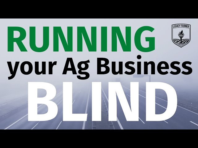 Blindly Driving your Business