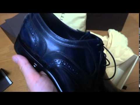 ルイヴィトンの革靴買 ...