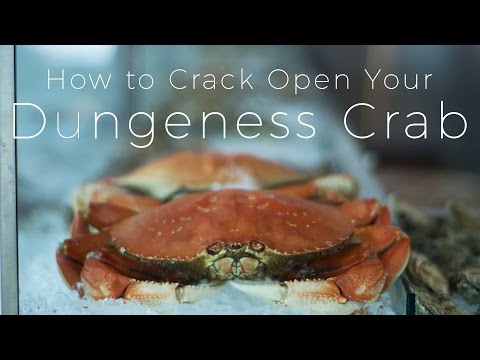 How to Crack Open Your Dungeness Crab