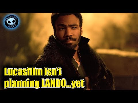 Lucasfilm has no plans for a LANDO movie...yet