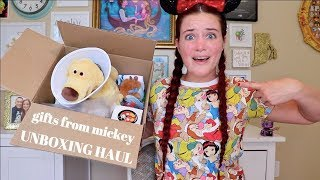 INCREDIBLE DISNEY SUBSCRIPTION UNBOXING HAUL | GIFTS FROM MICKEY