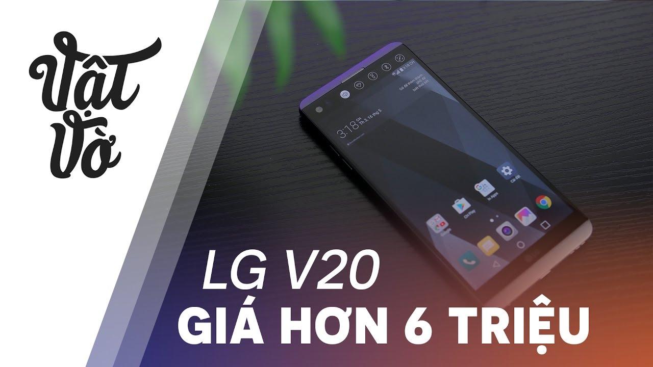 LG V20: flagship giải trí toàn diện giảm còn hơn 6 triệu