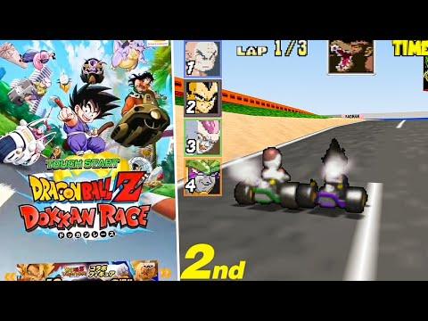 Playing Dragon Ball Z Dokkan Race
