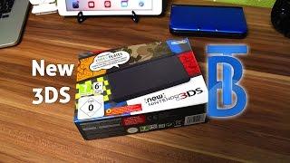 Unboxing: New Nintendo 3DS Black/Schwarz [German/Deutsch]