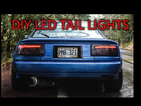 DIY LED TAILLIGHTS UNDER $50 (super boring)