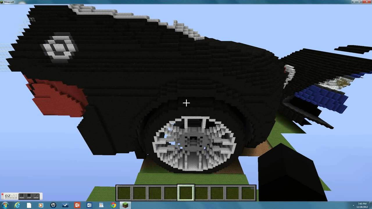 Minecraft Buggati Veyron Super Sport Youtube
