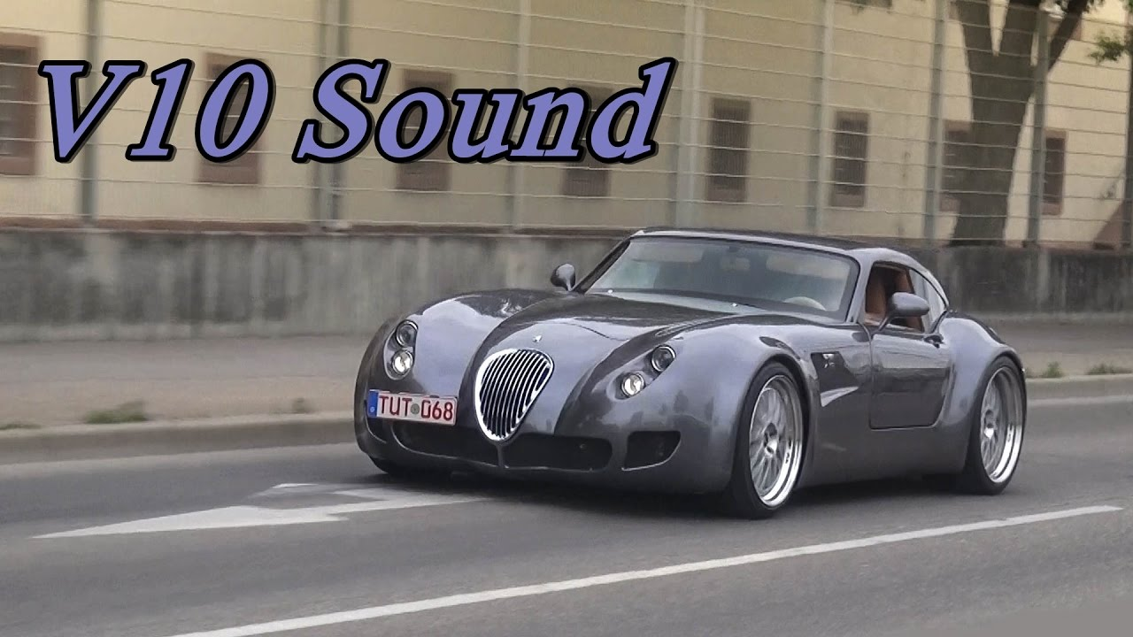 Wiesmann GT MF5 - Pure V10 Sounds! - YouTube