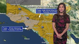 CBSLA Morning Weather Brief (November 11)