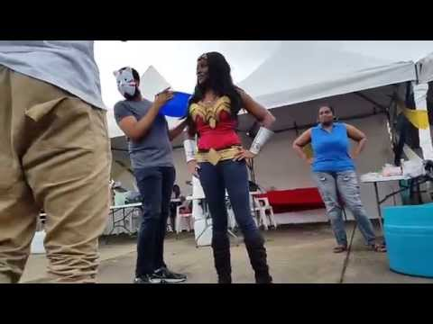 ALS Ice Bucket Challenge Wonder Woman