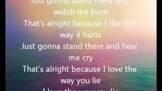 A Skylit Drive-Love The Way You Lie (lyrics)