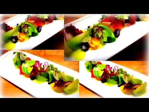 Food Plating Exercise - Tomato Salad