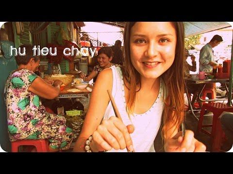Most favorite vegetarian soup in Vietnam : Hủ Tiếu Chay