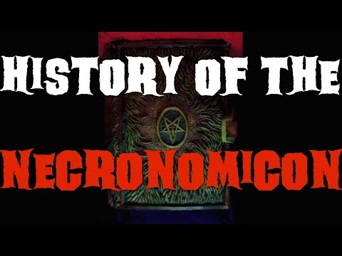 History of the Necronomicon by H.P. Lovecraft