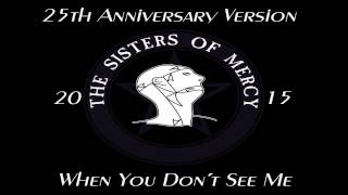 The Sisters of Mercy - When You Don´t See Me (25th Anniversary Version)