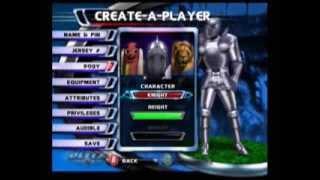 NFL Blitz 2003 (Xbox) - Create a Player mode