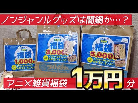 ジャンルのわからない福袋はやっぱり闇鍋か…?アニメ雑貨福袋1万円分開けてみた