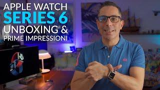 Apple Watch Series 6 | Unboxing e Prime Impressioni