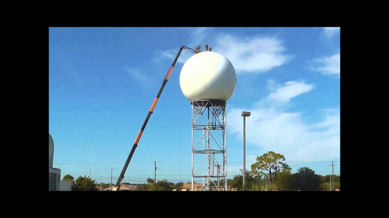 NWS Tampa Bay WSR-88D Weather Radar Painting