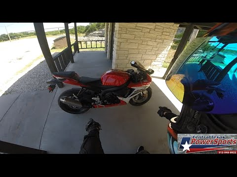 2013 Suzuki GSXR 600 Test Ride