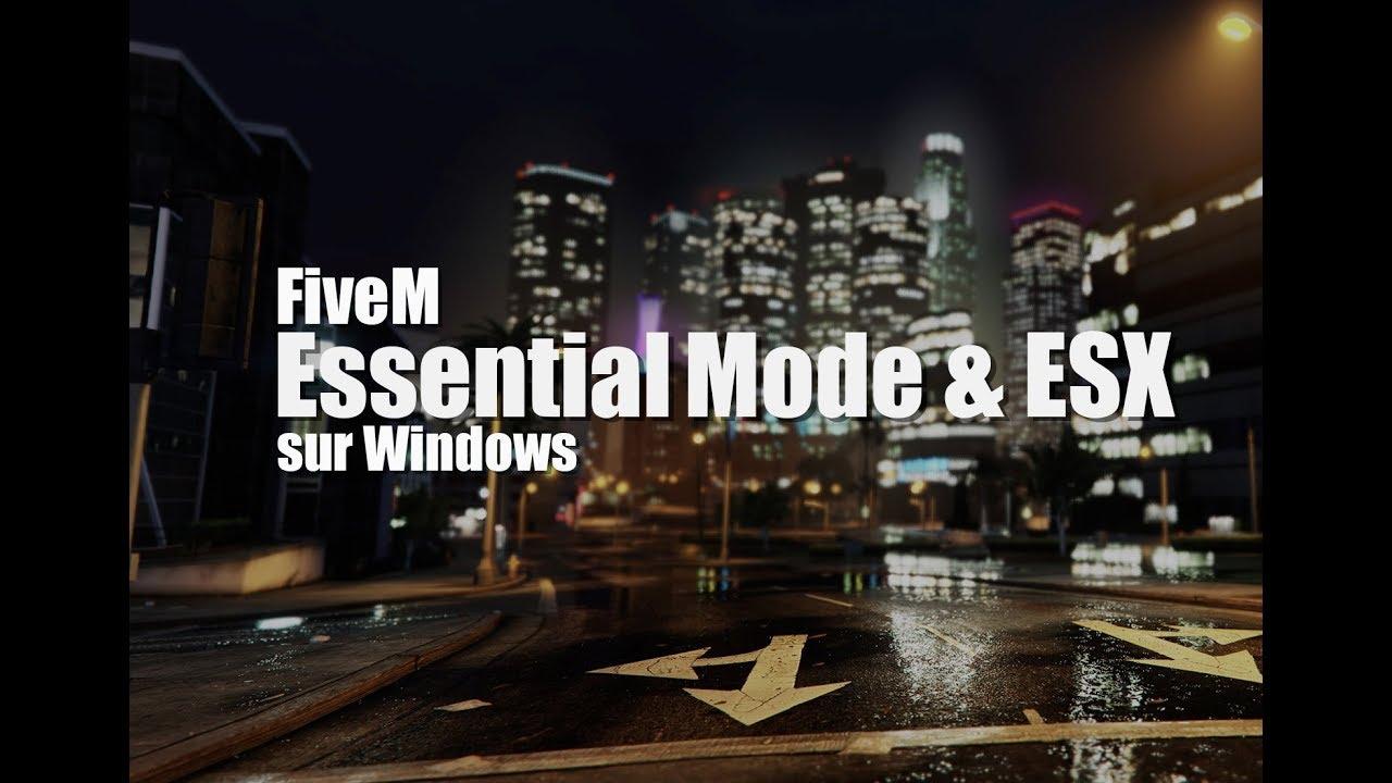 ✅ Serveur Roleplay Gta5 Essentialmode & Esx Fivem  Gta5 Cool 39:40 HD