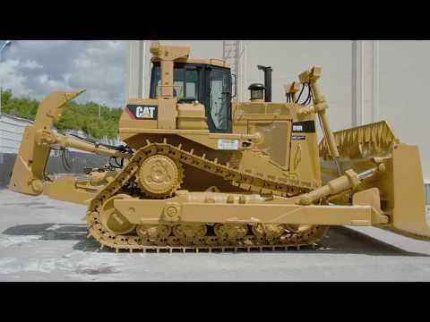 Восстановление бульдозера Cat® D9R