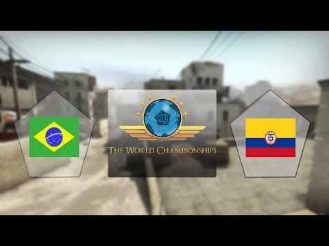 E-Frag TWC - Brasil vs. Colômbia (Mapa 1 - Dust 2) - Qualificatório Sul-Americano