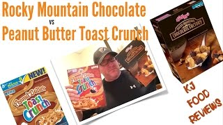 Kj Food Reviews: Peanut Butter Toast Crunch Vs Kellogg's Rocky Mountain Cereal