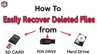 How to Recover Data Easily || Best Data Recovery Software || Mr.Tricks Master
