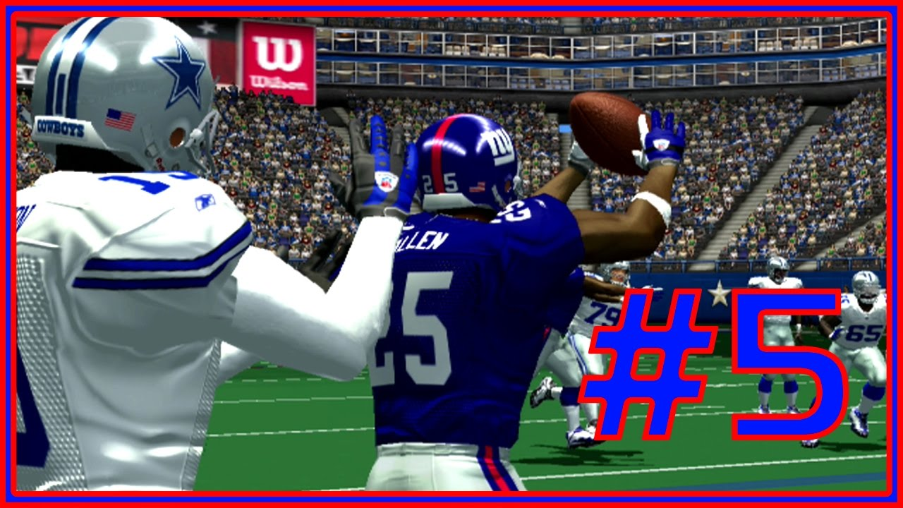 ESPN NFL 2K5: New York Giants Franchise  @ Dallas Cowboys [5]  YouTube